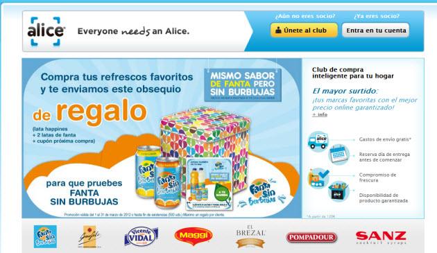 supermercado online opiniones de Alice