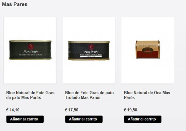 Comprar foie online en Sibarissimus