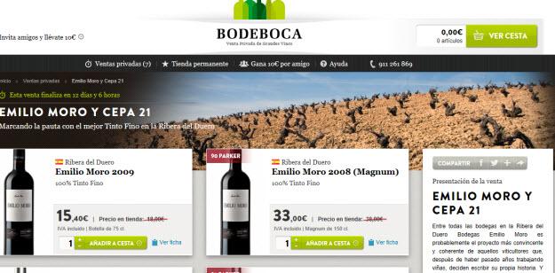 Comprar vinos Emilio Moro