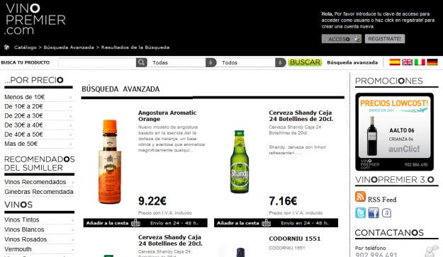 Comprar vinos por menos de 10 euros