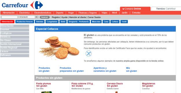 Hacer la compra en Carrefour online