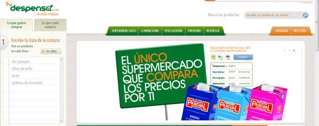 Supermercado online Hiperdirect, compra facil