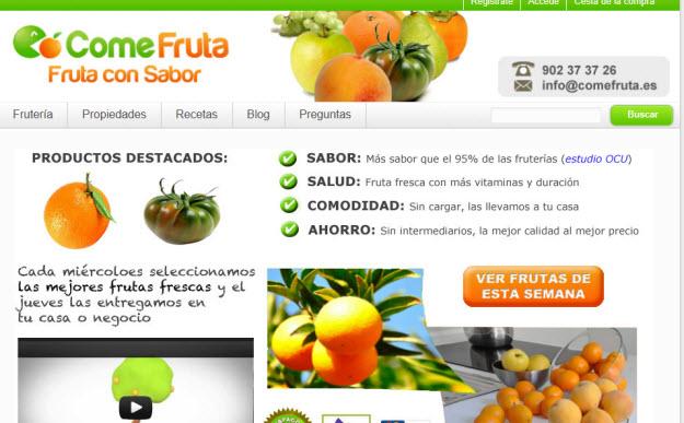 Comprar fruta de temporada: la mejor fruta de la forma más cómoda