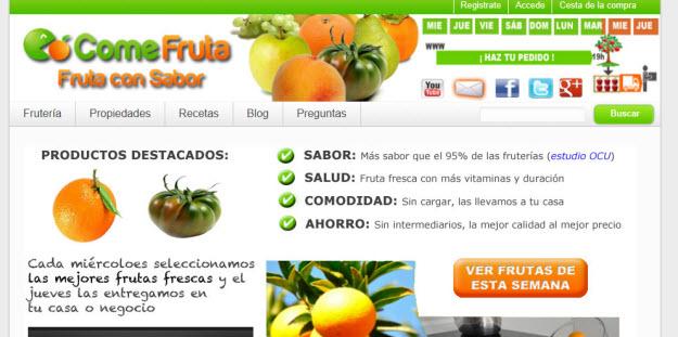Comprar fruta que sepa a fruta ¿es posible a través de internet?