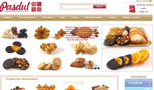 Comprar pasteles artesanos por internet