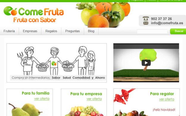Comprar fruta ecológica