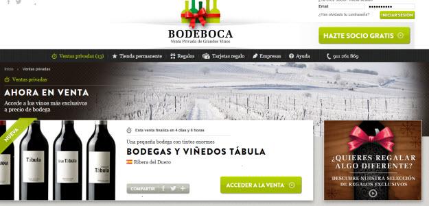 Club de ventas privadas de vinos