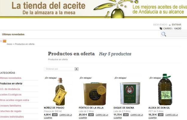 Comprar aceite Germán Baena en La Tienda del Aceite