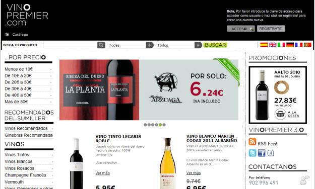Comprar vinos espumosos por internet en Vinopremier