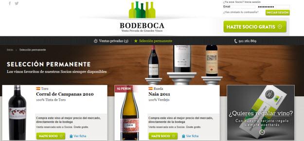 Comprar vinos espumosos por internet