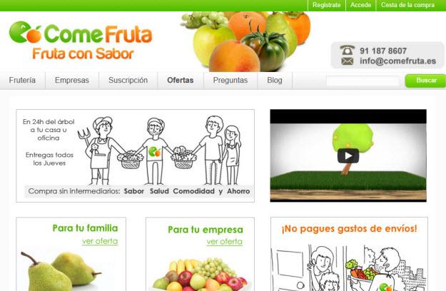 Naranjas a domicilio en Comefruta