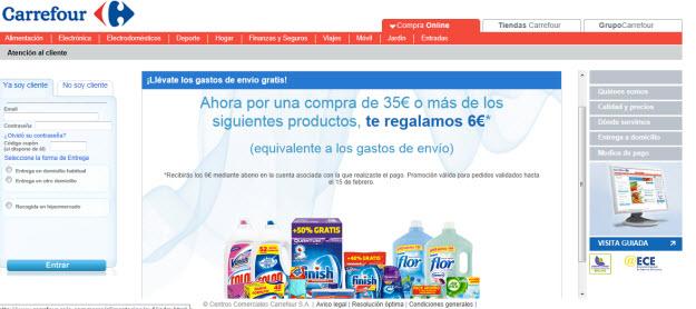Ofertas de hipermercados Carrefour