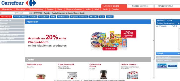 Comprar a domicilio en Carrefour online: todo son ventajas