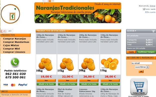 Comprar naranjas ecológicas: la mejor fruta de la red a tu alcance