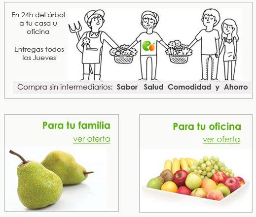 Come Fruta, comprar naranjas y fruta fresca en Internet