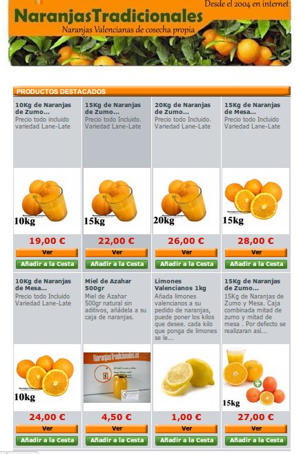 Naranjas Tradicionales, los mejores cítricos a un sólo clic
