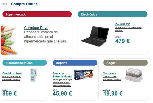 Todos los productos del folleto Carrefour en su supermercado online