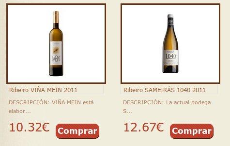Los mejores vinos gallegos en Gulagalega