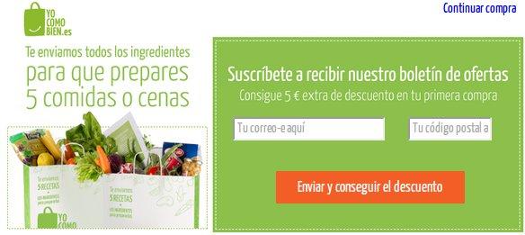 Opiniones Yocomobien: un supermercado con productos frescos, sanos y a buen precio