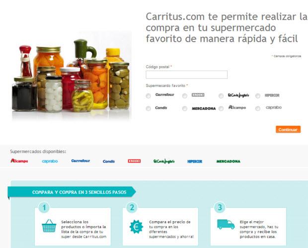 comparar precios de supermercados online