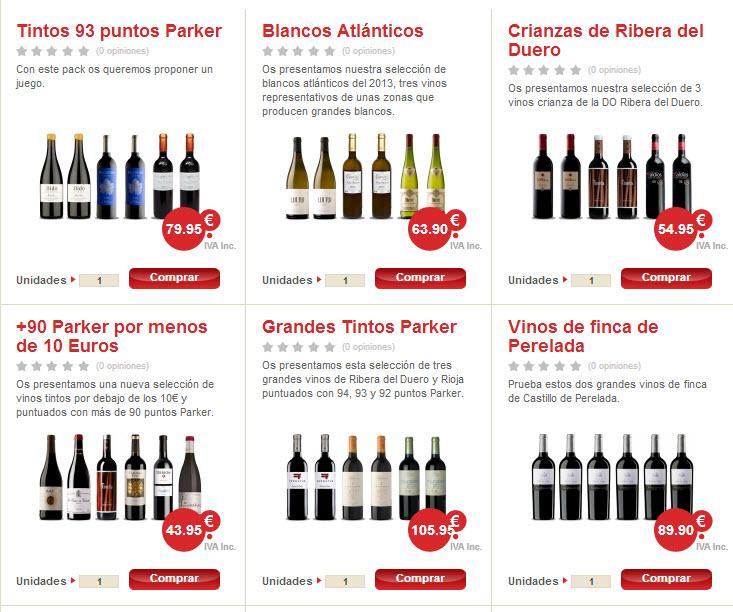 vinos recomendados por sumiller