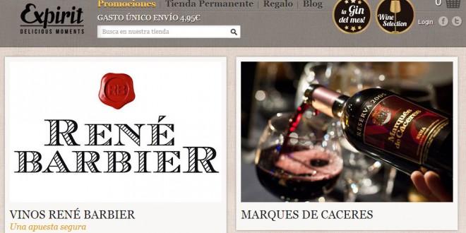 Expirit: opiniones del portal de gourmet y de vinos