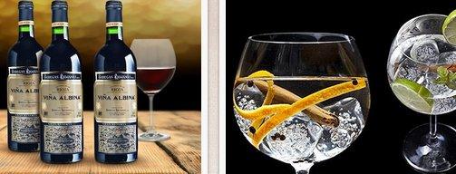 El club del gourmet: vinos y ginebras para los más exigentes