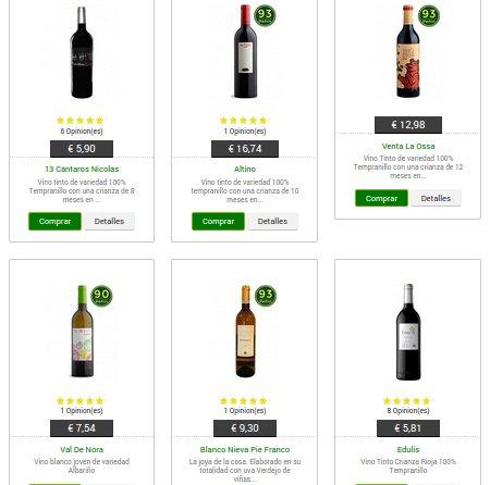 club del gourmet vinos