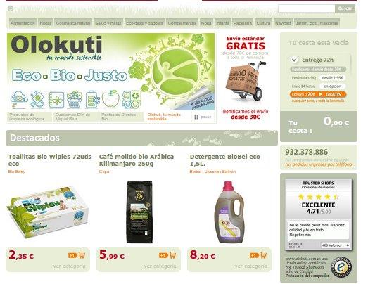 Alimentación ecológica online