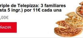 Telepizza 2015 opiniones: Family Days y Martes Locos
