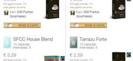 Cápsulas compatibles Nespresso online y a domicilio: precios
