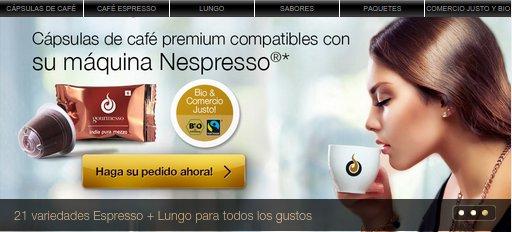 Cápsulas compatibles Nespresso online