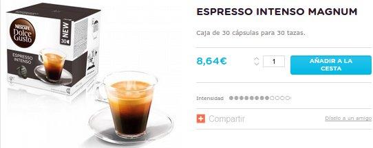 Nescafé Dolce Gusto precios