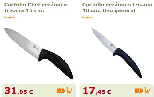 Cuchillos de cerámica precios