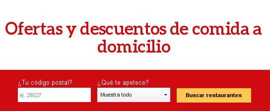 Just Eat descuentos
