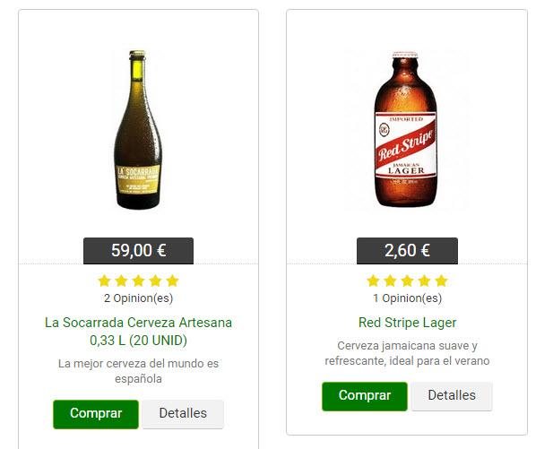 Mejores tiendas de cerveza online España