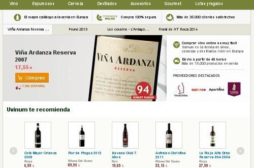 Uvinum opiniones: Marqués de Riscal y Laus reserva 2005