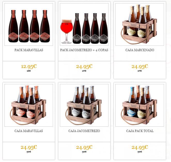 cervezas online ofertas pack variados