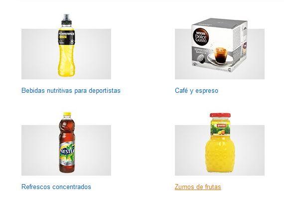 Amzon bebidas