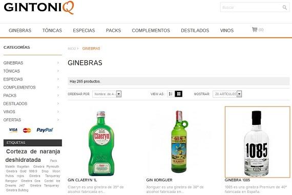 Gintoniq.com