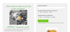 Hacer la compra de frescos online por Internet y a domicilio