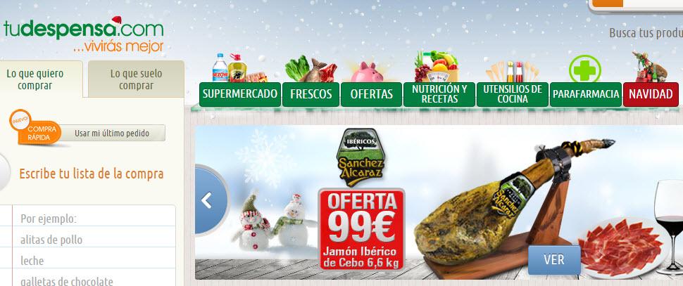 mejores supermercados online 2016