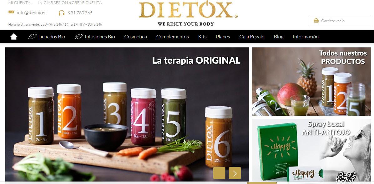 dieta detox online