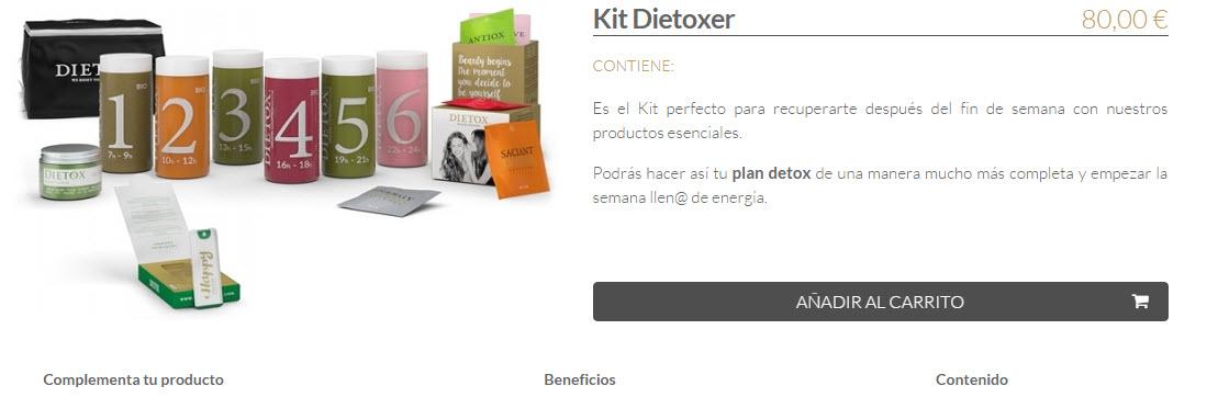 kit detox para regalar