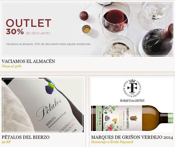 outlet vinos online