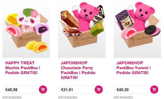 japon shop dulces japoneses