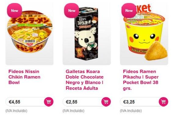 japon shop productos japoneses