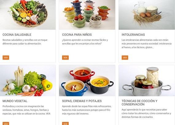 Muy dulces escuela cocina masterchef cocinas muy dulces - Curso de cocina masterchef ...