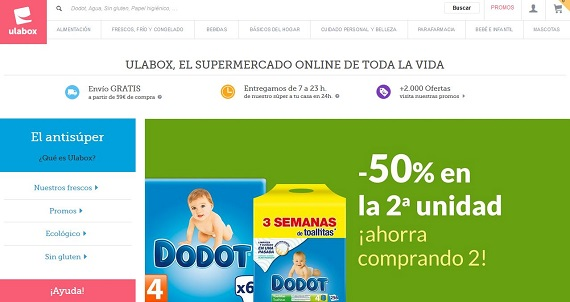 mejores supermercados con entrega rapida