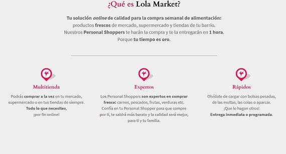 Supermercados online con entrega rápida